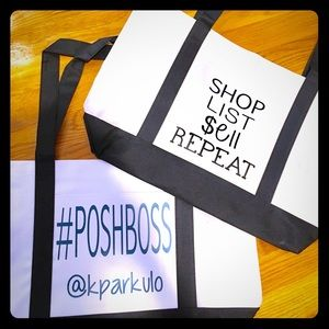 #Poshboss Reseller Personalized Tote Bags